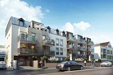 Citad'in Maître d'ouvrage : AKERYS Situation : VILLIERS-SUR-MARNE (94) - 21 à 25 Rue André Rouy Construction de 39 logements